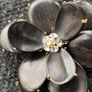 Authentic Chanel Camilla Brooch 2002 collection